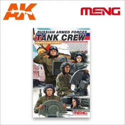 The High-spirited Russian Tank Crew. Escala 1:35. Marca Meng. Ref: HS-007.