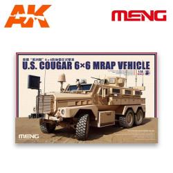Cougar 6x6 Vehículo MRAP EE.UU. Escala 1:35. Marca Meng. Ref: SS-005.
