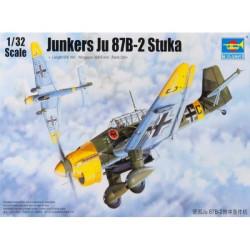 Caza Junkers Ju87B2 Stuka. Escala 1:32. Marca Trumpeter. Ref: 03214.