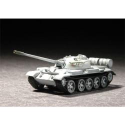 Tanque medio T-55 M1958, soviético. Escala 1:72. Marca Trumpeter. Ref: 07282.