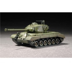 Tanque US M26A1, Pershing heavy. Escala 1:72. Marca Trumpeter. Ref: 07286.