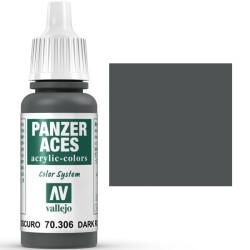 Acrilico Panzer Aces, caucho oscuro. Bote 17 ml. Marca Vallejo. Ref: 70.306.