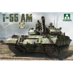 Tanque medio ruso T-55 AM. Escala 1:35. Marca Takom. Ref: 2041.