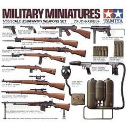 Armas de infantería de EE. UU. Escala 1:35. Marca Tamiya. Ref: 35121.