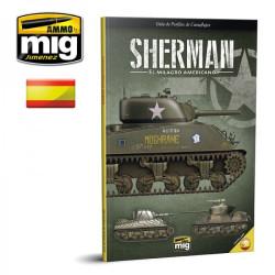 Guia de perfiles de camuflajes. Sherman, el milagro americano. Marca Ammo Mig. Ref: A MIG 6081.