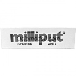 Masilla Epoxy Putty superfine white, Masilla de modelar superfina blanca. 113 gr. Marca Milliput. Ref: Superfine white.