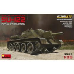 SOVIET SU-122 S.P.GUN (Full interior kit). Escala 1:35. Marca Miniart. Ref: 35175.
