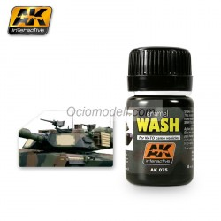 Lavado para tanques de la Nato, Wash for Nato tanks. Bote de 35 ml. Marca AK Interactive. Ref: AK075.