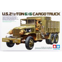 US 2.5 ton 6x6 Cargo Truck. Escala 1:35. Marca Tamiya. Ref: 35218.