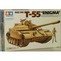 "Tanque Iraqi T-55 "" Enigma "". Escala 1:35. Marca Tamiya. Ref: 35324."