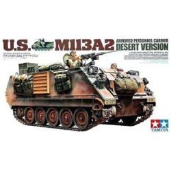 US M113A2 Armored Personnel Carrier Desert Versión. Escala 1:35. Marca Tamiya. Ref: 35265.