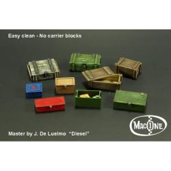 Cajas set A. Escala 1:35. Marca Macone. Ref: MAC35111.
