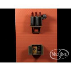 Transformador eléctrico Mod A. Escala 1:35. Marca Macone. Ref: MAC35125.