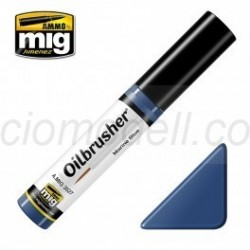 Oilbrusher: Oleo Azul marino, marine blue. Marca Ammo of Mig Jimenez. Ref: A.MIG 3527.