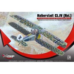 Avión Halberstadt CL.IV [Rolland]. Escala 1:48. Marca Mirage hobby. Ref: 481314.