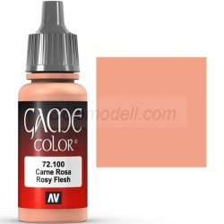 Acrilico Game Color, Carne rosa. Bote 17 ml. Marca Vallejo. Ref: 72.100.