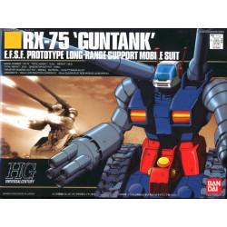 HGUC 007 RX-76 Gun Tank . Serie Gundam. Escala 1:144. Bandai. Ref: 75486.