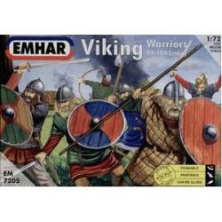 Figuras vikingas. Escala 1:72. Marca Emhar. Ref: EM7205.