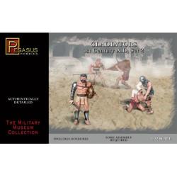 Gladiadores, set 2. Escala 1:32. Marca Pegasus. Ref: PG3202.