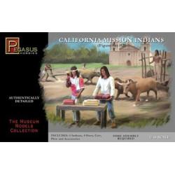 Figuras de California en la misión de las Indias, set 2. Escala 1:48. Marca Pegasus. Ref: 7005.