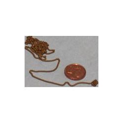 Cadena cobre 9s/cm , Marca Joefix, Ref: 962.