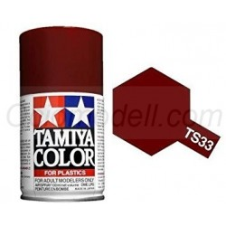 Spray Hull red, rojo naval, 85033. Bote 100 ml. Marca Tamiya. Ref: TS-33.