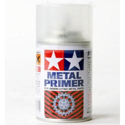 Spray Metal Primer transparente. Para metal. Bote 100 ml. Marca Tamiya. Ref: 87061.