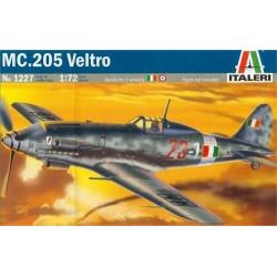 Macchi MC 205 Veltro. Escala 1:72. Marca Italeri. Ref: 1227.
