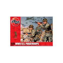 Set de Figuras Paracaídistas U.S.. Escala 1:72. Marca Airfix. Ref: A01751.