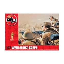 Set de Figuras Africa Korps, WWII. Escala 1:72. Marca Airfix. Ref: A00711.