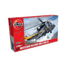 Westland Sea King HAR.3/Mk.43. Escala 1:72. Marca Airfix. Ref: A04063.