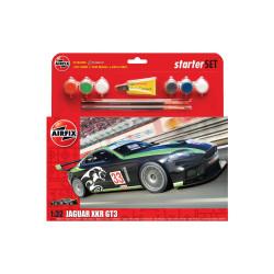 Jaguar XKR GT3. Escala 1:32. Marca Airfix. Ref: A55306.