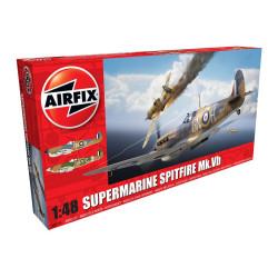 Caza Supermarine Spitfire MkVb. Escala 1:48. Marca Airfix. Ref: A05125.