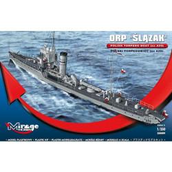 Torpedera ORP Slazak Torpedo Boat. Escala: 1:350. Marca: Mirage. Ref: 350509.