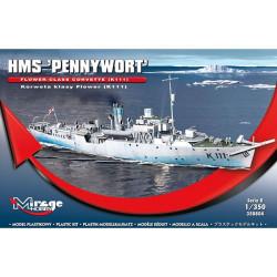 HMS Pennywort K111. Escala: 1:350. Marca: Mirage. Ref: 350804.