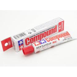 Polishing compound, coarse. Tubo 22 ml. Marca Tamiya. Ref: 87068.