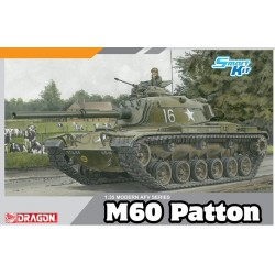 Carro M60 Patton.  Escala 1:35. Marca Dragon. Ref: 3553.