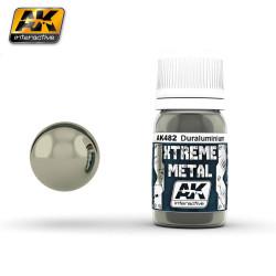 Xtreme Metal, Duraluminio. Contiene 30 ml. Marca AK Interactive. Ref: AK482.