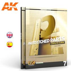 Libro photoetched, guia completa de las partes  del fotograbado. Marca AK Interactive. Ref: AK245.