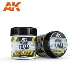 Producto weathering, espuma de agua. Bote de 100 ml. Marca AK Interactive. Ref: AK8036.
