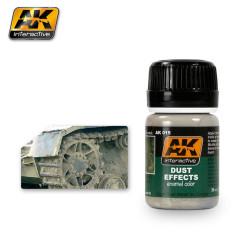Efecto de polvo. Bote de 35 ml. Marca AK Interactive. Ref: AK015.