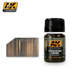 Weathering streaking grime. Bote de 35 ml. Marca AK Interactive. Ref: AK012.