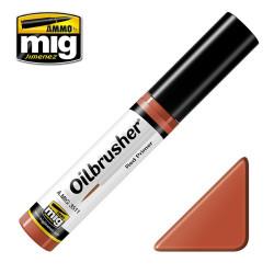 Oilbrusher: Oleo rojo imprimación, red primer. Marca Ammo of Mig Jimenez. Ref: AMIG3511.
