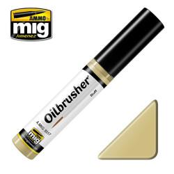 Oilbrusher: Oleo ante, Buff. Marca Ammo of Mig Jimenez. Ref: AMIG3517.