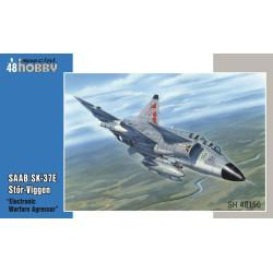 "SAAB SK-37E Stör-Viggen ""Electronic Warfare Agressor"". Escala 1:48. Marca Special Hobby. Ref: 48150."