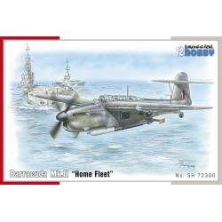 "Fairey Barracuda MK.II "" Home Fleet"". Escala 1:72. Marca Special Hobby. Ref: 72306."