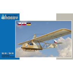 SG-38 / SK-38, Checoslovaquia, Polonia y este de Alemania. Escala 1:48. Marca Special Hobby. Ref: 48139.