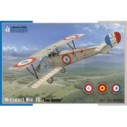 "Nieuport Nie 10 "" Two-seater "". Escala 1:48. Marca Special Hobby. Ref: 48184."