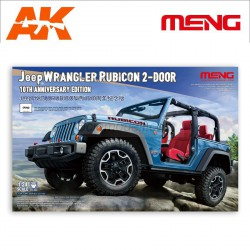 Jeep Wrangler Rubicon 2-Door.  Escala 1:24. Marca Meng. Ref: CS-003.