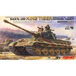 German heavy tank sd.kfz.182 king tiger. Escala 1:35. Marca Meng. Ref: TS-031.